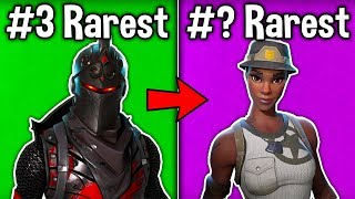 5 NEW RAREST SKINS IN FORTNITE! (u don't have these skins)
