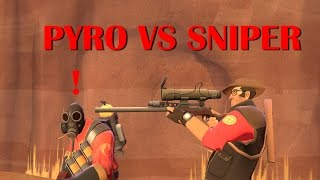 TF2 bot battle 20 : Pyro VS Sniper