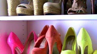 Closet Makeover: Shoe Organization ☆GLAM July☆