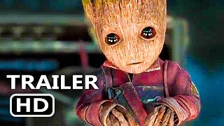 Download GUARDIANS OF THE GALAXY 2 Official Baby Groot TV Spot (2017) Superhero Movie HD 3Gp Mp4