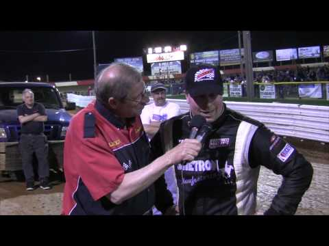 Lincoln Speedway 410 Sprint Car Victory Lane 4-18-15