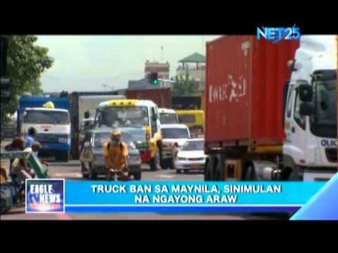 Manila Truck Ban Starts