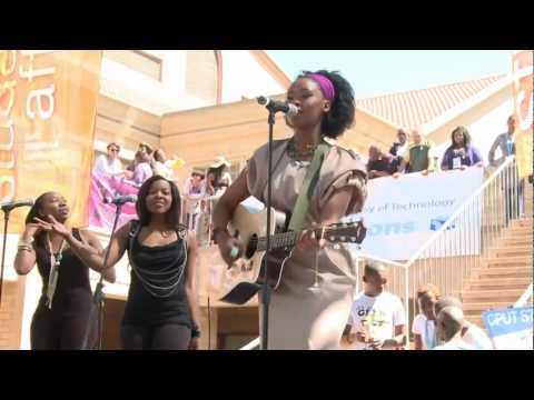 Zahara Live At Cput Bellville Campus video