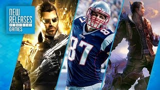 Deus Ex: Mankind Divided, Madden NFL 17, The King of Fighters XIV - New Releases