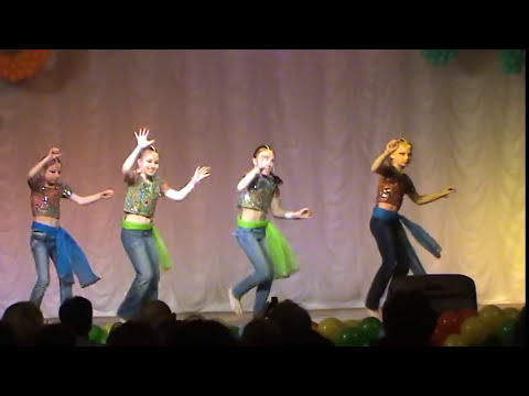 Russian Children Dancing Bollywood Song From Film Dhoom video
