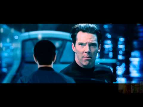 Star Trek Into Darkness - Khan Takes Over Vengeance / Khan vs Spock Battle of Wits