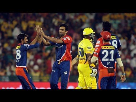IPL 8: Zaheer Khan stuns CSK with his bowling; DD beat CSK