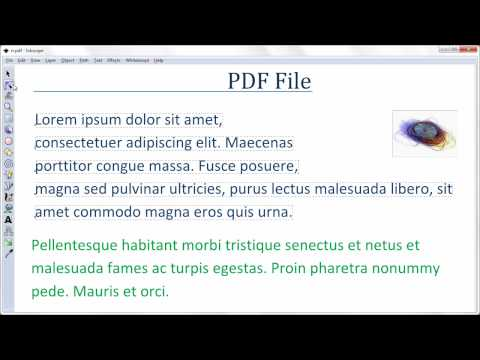how to edit existing pdf file