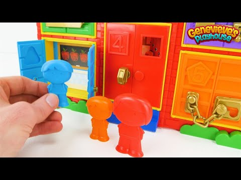 Best Toddler Learning Video for Kids: Locking Toy School!