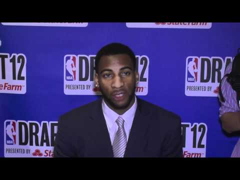 UConn's Andre Drummond Talks NBA Draft, UConn, Anthony Davis & Video Games
