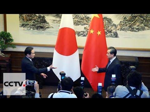 Japan FM Fumio Kishida arrives in Beijing