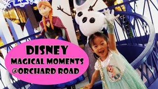 Menari bersama Princess Elsa di Disney Magical Moments Lighting Orchard Road Singapore 2018