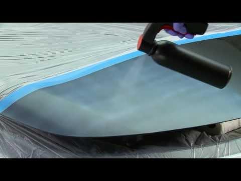 3M™ Paint Defender Spray (жидкая пленка) - Руководство по нанесению