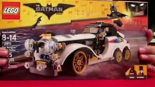 LEGO BATMAN MOVIE The Penguin Arctic Roller 70911 Building Kit  305 pcs Speed build