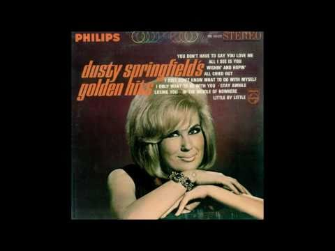Dusty Springfield ~ i Just Don't Know What To Do With Myself (HQ)