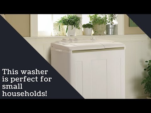 Danby Twin Tub Demonstration   DTT100A1WDB   9.90 lbs
