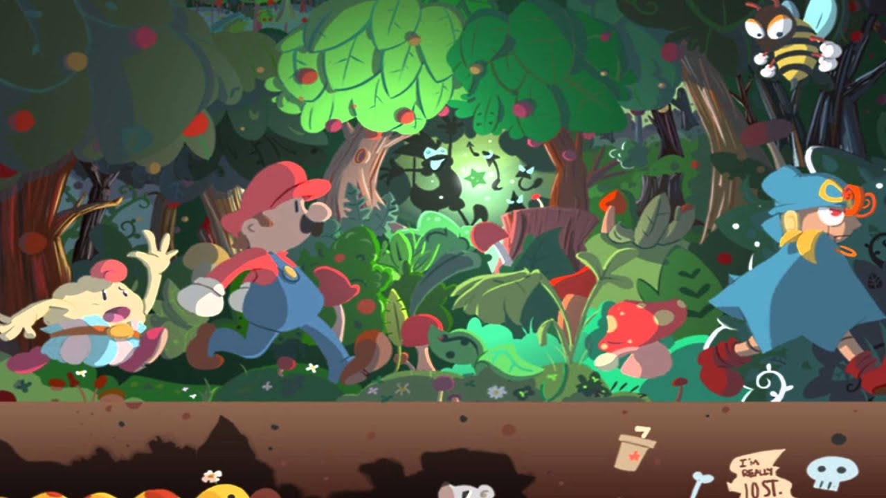 Mario Rpg Wallpaper Super Mario Rpg Forest Maze