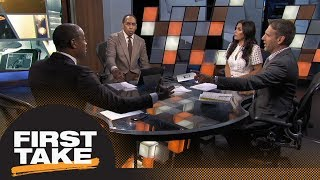 First Take reacts to Dak Prescott's comments on Cowboys anthem policy | First Take | ESPN