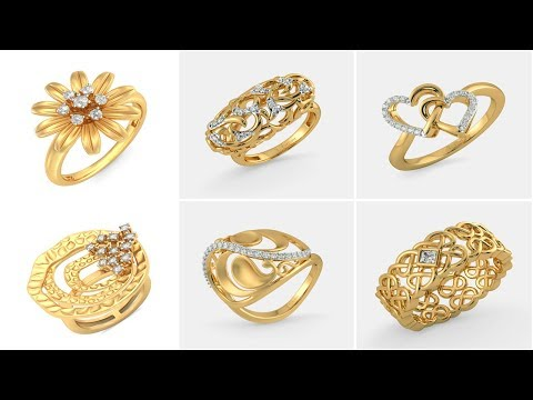 New Gold Ring Designs | Fashion Jewellery