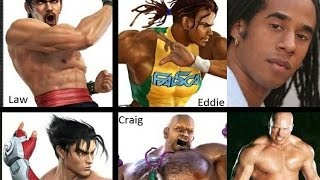 Tekken Real Life Characters (Movie Game edition)
