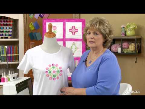 Learn How to Machine Embroider with Annie's Online Classes