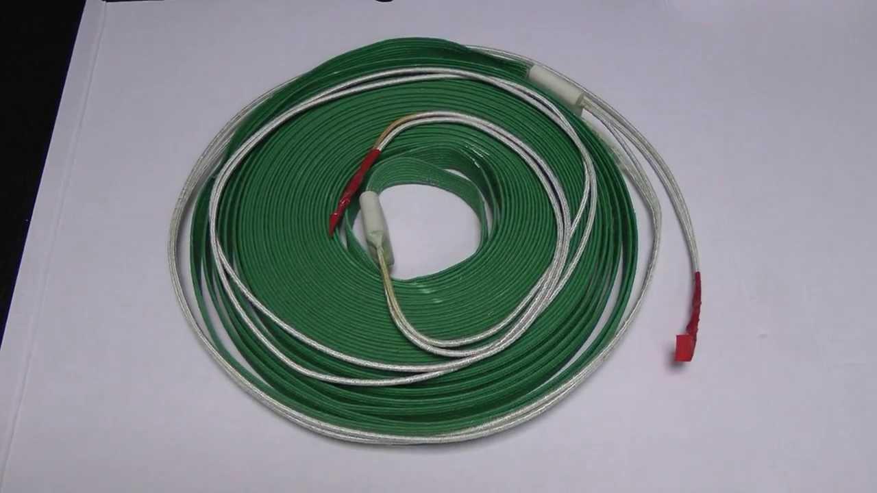 Саморегулирующиеся нагревательные ленты применяются для систем электрообогрева трубопроводов