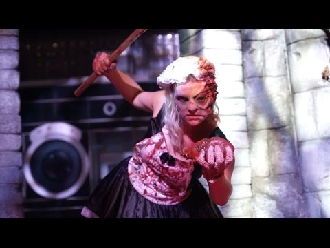 Face Off Scare Zone at Halloween Horror Nights 2014 at Universal Studios Florida