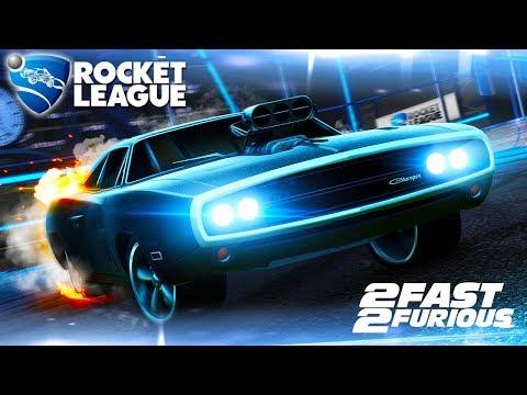 Rocket League - Novo Carro DODGE CHARGER da DLC Fast and Furious