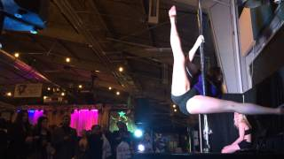 Syndell's Pole Freestyle at the Sex Show