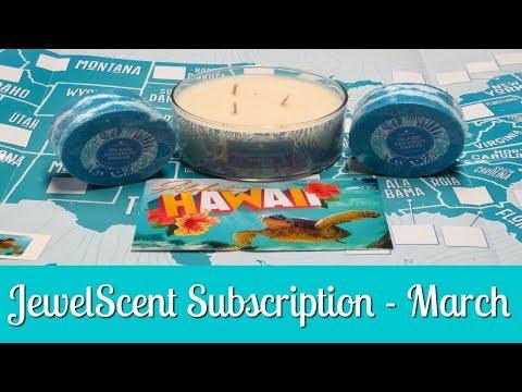 JewelScent Jewels of America Subscription Box - March 2018!