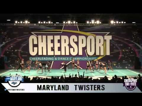 Cheersport Maryland Twisters