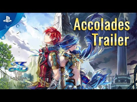 Ys VIII: Lacrimosa of DANA – Accolades Trailer | PS4, PS Vita