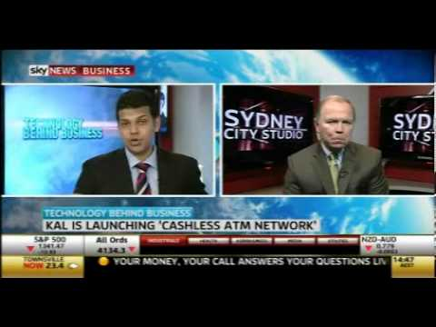Sky News feature on KAL s cashless ATM, the Retail Teller Machine (RTM)