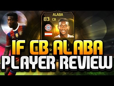 FIFA 15 Ultimate Team IF David Alaba 83 Player Review FUT 15 IF Alaba At CB FIFA 15 UT