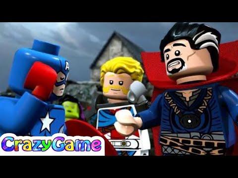 LEGO Marvel Super Heroes 2 100% Guide Walkthrough #3 (Minikit, Stan Lee, Character Token, 4K 60fps)