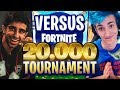 VIKKSTAR & TINNY vs  NINJA & DRLUPO in Fortnite $20,000 TOURNAMENT