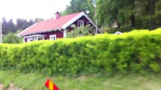 Country side scenic ride, Sweden!