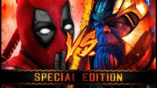 DEADPOOL VS. THANOS ║ COMBATES MORTALES DE RAP: SPECIAL EDITION ║ JAY-F