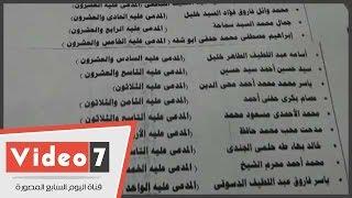 بالأسماء عزل 31قاضيا وقعوا على بيان رابعة وإحالة 10 للمعاش