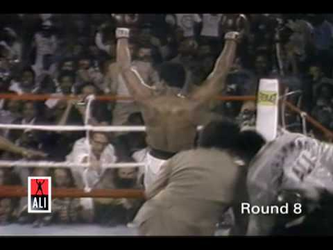 Rumble in The Jungle  Ali vs. Foreman Highlights