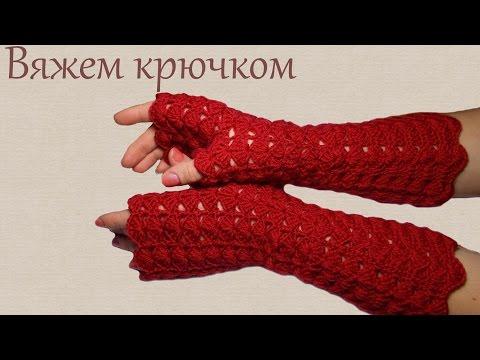 Вязание для начинающих митенки