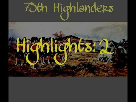 75th Highlanders Line Battle Highlights 2 (Mount and Blade Napoleonic Wars)