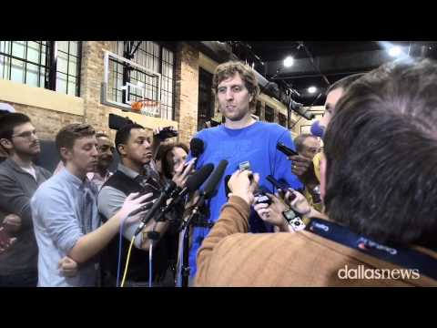 Dirk Nowitzki talks about the Dallas Mavericks Season
