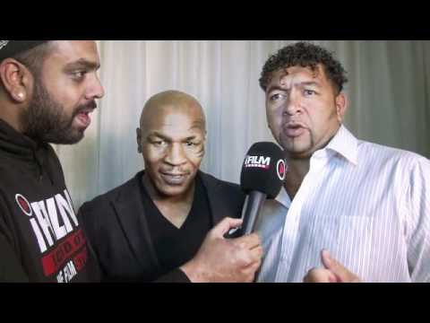 'IRON' MIKE TYSON & CARL HOLNESS INTERVIEW FOR iFILM LONDON.