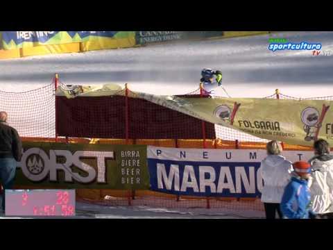 MARANGONI FIS SKI EUROPEAN CUP slalom gigante maschile 2° manche Full HD #sport #live
