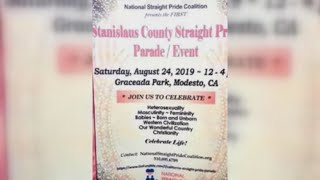 Anti-gay group submits permit for 'Straight Pride' Parade/Event in Modesto