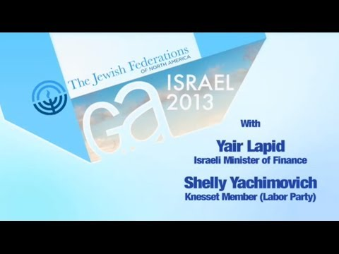 GA: Yair Lapid, Shelly Yachimovich