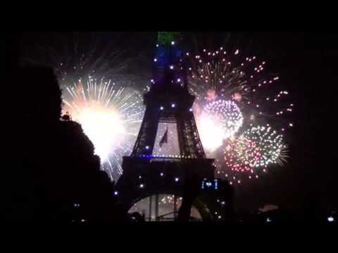 Bastille Day Fireworks at the Eiffel Tower, 2013