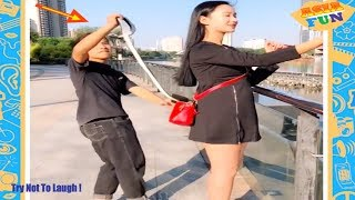 Chinese Comedy Videos - New Funny Pranks Compilation Try Not To Laugh P10