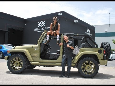 2013 Avorza Jeep Wrangler Street Edition . done for Teyana Taylor